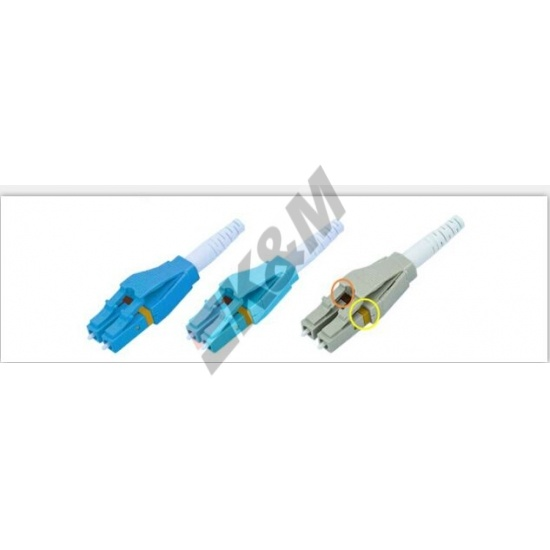LC SM Uniboot connector Beige Kit met verlengstuk