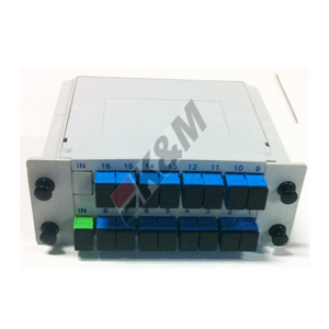 1 x 16 SCPC Mini Plug-in PLC Splitter vak