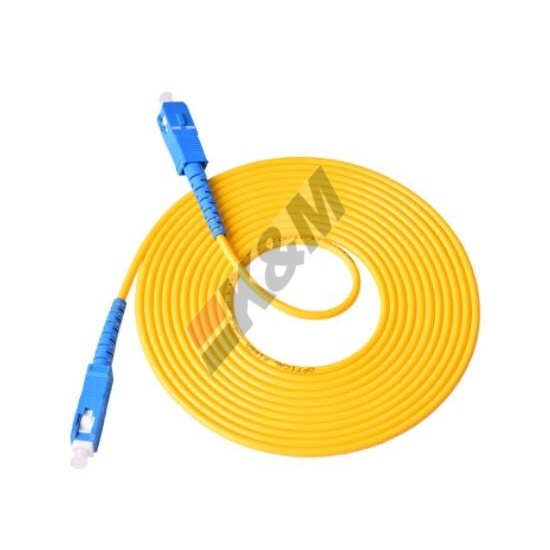 SC /PC aan SC/PC SM SIMPLEX Fiber Optic Patch koord