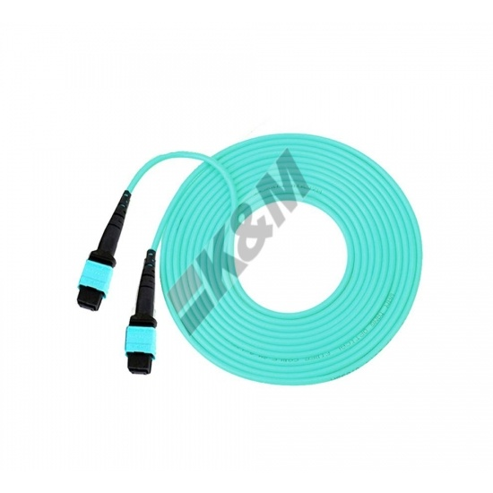 12 Cores MTP Fiber  Assembly Cable K&M